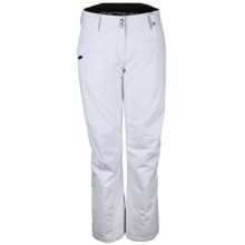 Obermeyer Malta Ski Pants - Insulated (For Women) in White - Closeouts