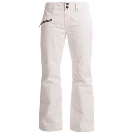 Obermeyer Malta Ski Pants - Waterproof, Insulated (For Women) in White - Closeouts