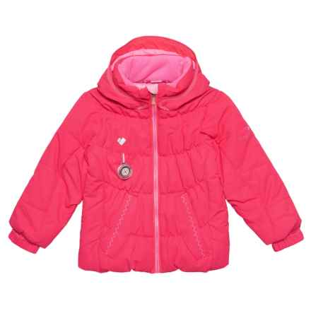 Obermeyer Marielle Jacket - Waterproof, Insulated (For Toddler, Little and Big Girls) in Smitten Pink - Closeouts