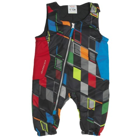 Obermeyer Max Bib Pants - Insulated (For Infant Boys) in Block Print