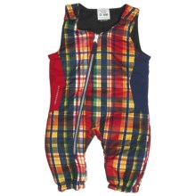 Obermeyer Max Bib Pants - Insulated (For Infant Boys) in Madras Plaid - Closeouts