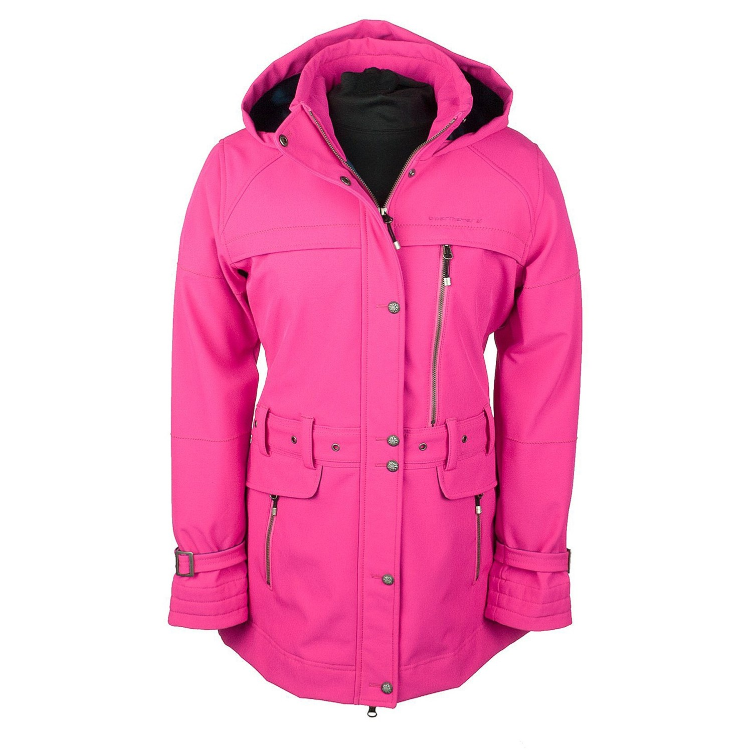Obermeyer Midtown Soft Shell Jacket (For Women) in Knockout Pink - Closeouts
