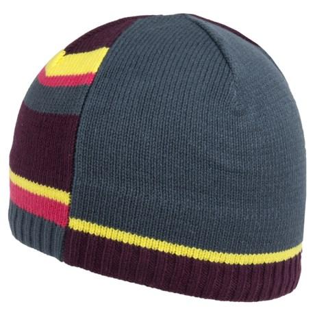 Obermeyer Mondi Knit Beanie Hat (For Girls) in Regal
