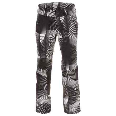 Obermeyer Monte Bianco Ski Pants - Waterproof, Insulated (For Women) in Optic - Closeouts