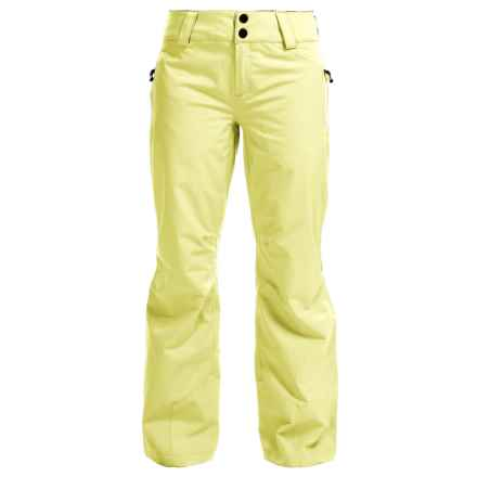Obermeyer Monterossa Thinsulate® Ski Pants - Waterproof, Insulated (For Women) in Daffodil - Closeouts