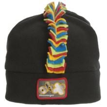 Obermeyer Mulitia Fleece Beanie Hat (For Little Kids) in Black - Closeouts
