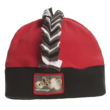 Obermeyer Mulitia Fleece Beanie Hat (For Little Kids) in True Red - Closeouts