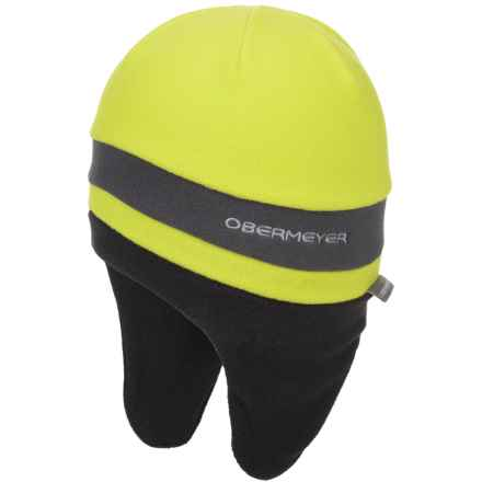 Obermeyer Neutrino Fleece Hat (For Kids) in Green Flash - Closeouts