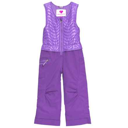 Obermeyer Ober-All Bib Pants - Waterproof, Insulated (For Toddler, Little and Big Girls) in Grapesicle - Closeouts