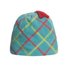 Obermeyer Olivia Fleece Beanie Hat (For Girls) in Cote Dazur - Closeouts
