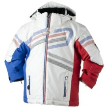 Obermeyer Olympic Jacket - Insulated (For Little Boys) in White - Closeouts
