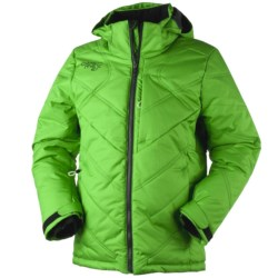 Obermeyer Oracle Parka - Insulated (For Boys) in Pro Green