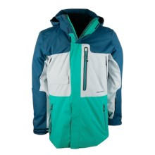 Obermeyer Oxnard Ski Jacket - Insulated (For Men) in Jade - Closeouts