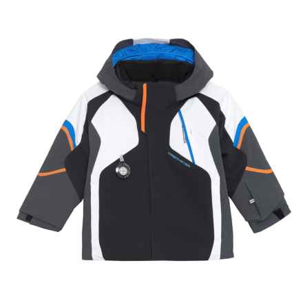 Obermeyer Patrol Ski Jacket - Waterproof, Insulated (For Toddler and Little Boys) in Black - Closeouts