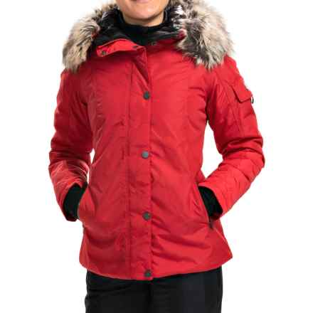 Obermeyer Payge Jacket - Waterproof, Insulated (For Women) in Garnet - Closeouts