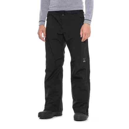 Obermeyer Peak Shell Ski Pants - Waterproof (For Men) in Black - Closeouts