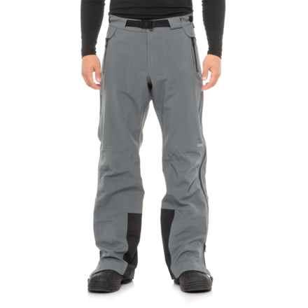 Obermeyer Peak Shell Ski Pants - Waterproof (For Men) in Graphite - Closeouts