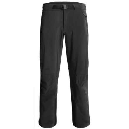 Obermeyer Peak Ski Pants - Waterproof (For Men) in Black - Closeouts