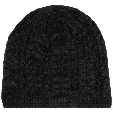 Obermeyer Pearl Knit Hat (For Women) in Black - Closeouts