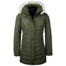 Obermeyer Penelope Long Coat - Waterproof, Insulated (For Women) in Stone Green - Closeouts