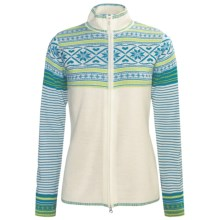 Obermeyer Phoebe Sweater - Full Zip, Long Sleeve (For Women) in Caribbean - Closeouts