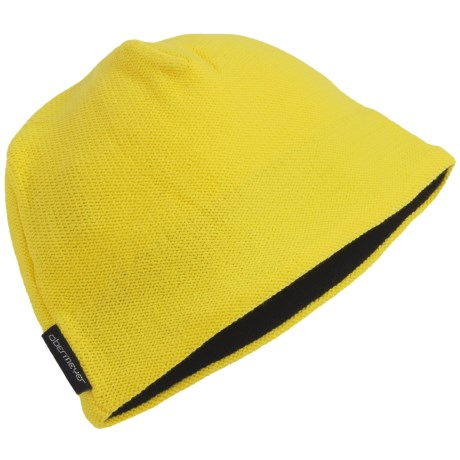 Obermeyer Pilot Knit Hat (For Boys) in Acid Yellow