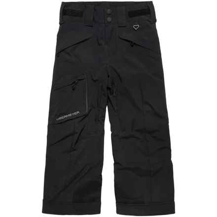 Obermeyer Porter Ski Pants - Waterproof, Insulated (For Big Boys) in Black - Closeouts