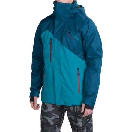 Obermeyer Poseidon PrimaLoft® Ski Jacket - Waterproof, Insulated (For Men) in Gypsy Blue - Closeouts