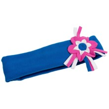 Obermeyer Posey Headband - Fleece (For Little Girls) in Royal Blue - Closeouts