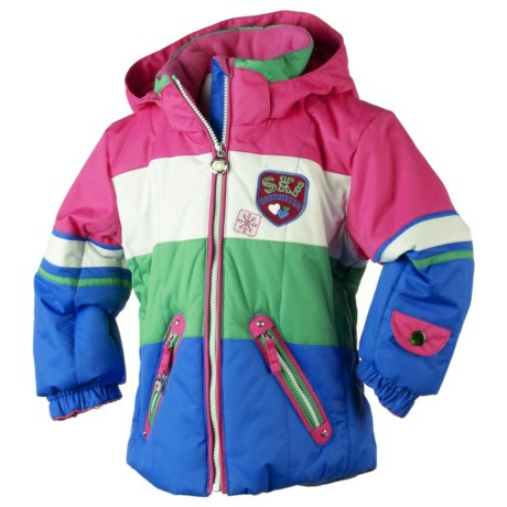 Obermeyer Posh Jacket - Insulated (For Little Girls) in Blue Ray