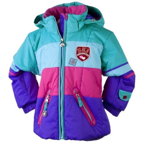 Obermeyer Posh Jacket - Insulated (For Little Girls) in Grape