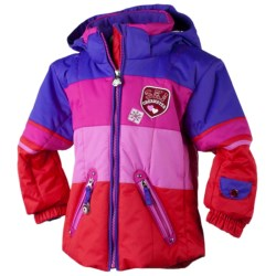 Obermeyer Posh Jacket - Insulated (For Little Girls) in Black