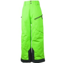 Obermeyer Pro Ski Pants - Waterproof, Insulated (For Little and Big Boys) in Glowstick - Closeouts