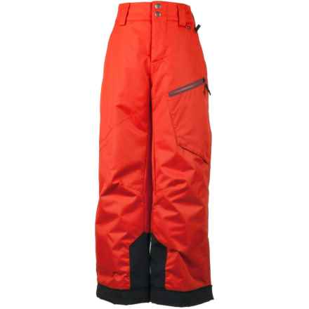 Obermeyer Pro Ski Pants - Waterproof, Insulated (For Little and Big Boys) in Lava - Closeouts