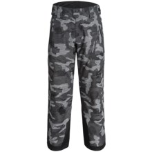 Obermeyer Process PrimaLoft® Ski Pants - Waterproof, Insulated (For Men) in Snow Camo - Closeouts