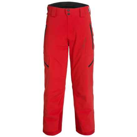 Obermeyer Process PrimaLoft® Ski Pants - Waterproof, Insulated (For Men) in True Red - Closeouts