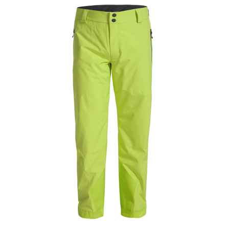 Obermeyer Process Ski Pants - Waterproof, Insulated (For Men) in Screaming Green - Closeouts