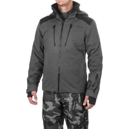 Obermeyer Proton PrimaLoft® Ski Jacket - Waterproof, Insulated (For Men) in Herringbone - Closeouts