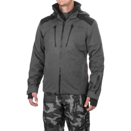 Obermeyer Proton Ski Jacket - Waterproof, Insulated (For Men) in Herringbone - Closeouts
