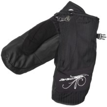 Obermeyer Radiator Mittens - Insulated (For Women) in Black - Closeouts