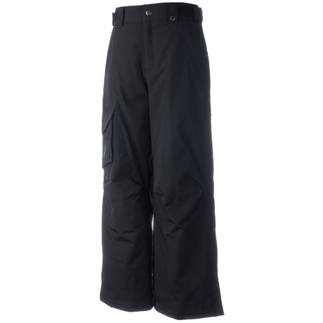 Obermeyer Rail Yard Snow Pants (For Boys) in Black