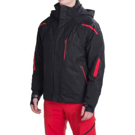 Obermeyer Ranger Ski Jacket - Waterproof, Insulated (For Men) in Chainlink Emboss - Closeouts