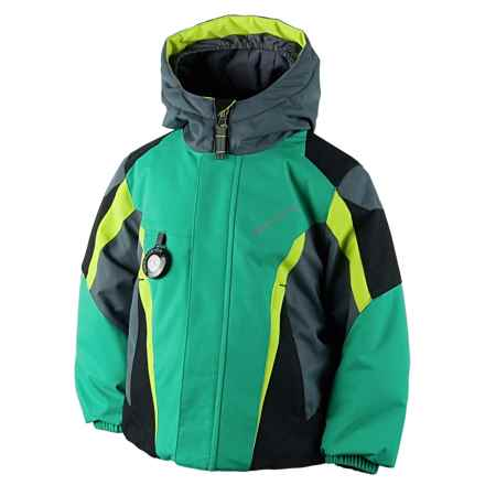 Obermeyer Raptor Ski Jacket - Insulated (For Little and Big Boys) in Lady Luck - Closeouts