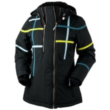 Obermeyer Rebecca Jacket - Insulated (For Women) in Black - Closeouts