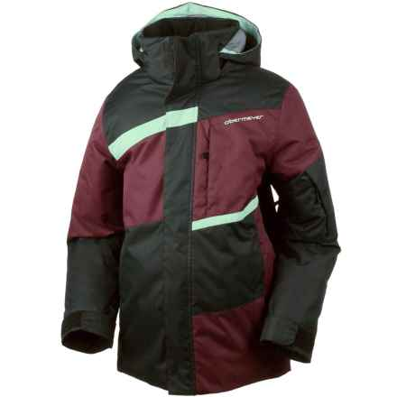 Obermeyer Rebel Ski Jacket - Waterproof (For Little and Big Boys) in Mojave Red - Closeouts
