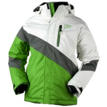 Obermeyer Renegade Jacket - Insulated (For Boys) in Pro Green - Closeouts