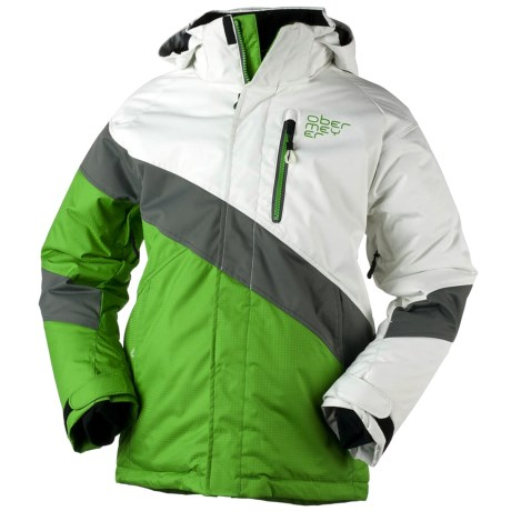 Obermeyer Renegade Jacket - Insulated (For Boys) in Pro Green
