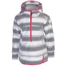 Obermeyer Revival Jacket - Insulated, Zip Neck (For Girls) in Quarry Stripe Jacqrd - Closeouts