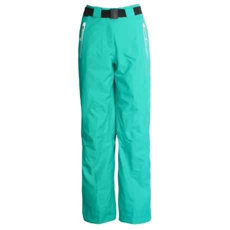 Obermeyer Royale Ski Pants (For Women) in Aqua Frost