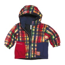 Obermeyer Sam Jacket - Insulated (For Infant Boys) in Madras Plaid - Closeouts